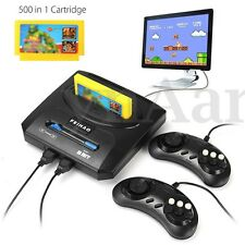 500 in 1 Retro Games Family Console Video TV Play Back + 2 Gamepads 2 Gamepads