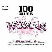 Various Artists - 100 Hits - Woman (2011)  5CD  NEW/SEALED  SPEEDYPOST