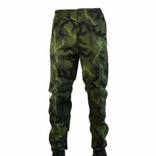 Czech Army M95 Green Camo Cargo Combat Military BDU Trousers by MFH Ripstop