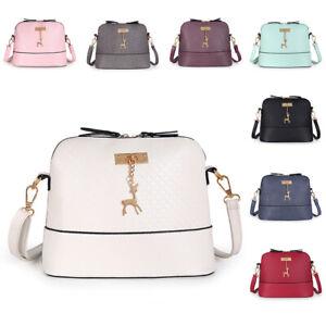 Ladies Cross Body Messenger Bag Womens Shoulder Over Bags Handbags Detachable dd