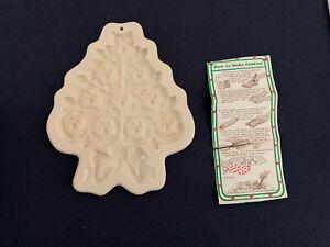 VINTAGE 1992 HARTSTONE CHRISTMAS TREE COOKIE MOLD
