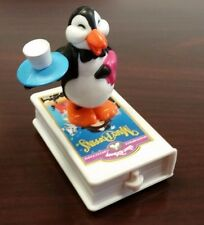 1998 McDonalds Disney Video Favorite Mary Poppins #4 PENGUIN WAITER Toy Cake Top