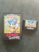 Sonic the Hedgehog Sega Genesis Video Game NOT FOR RESALE Release Rare