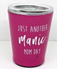 """Moment of Truth by Mary Square Tumbler""""Just Another Manic Mom Day"""""""