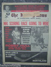 """Montreal, March 10, 1972 The Hockey News - """"NHL Scoring Race Going To Wire"""""""
