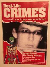 Real-Life Crimes Magazine #2 Bamber Family Murders Killer Dentist UK True Crime