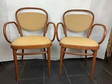 Ein Set Thonet Armlehn Stuhl No.215 Vintage 1980er