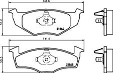 Mintex Front Brake Pad Set MDB1805  - BRAND NEW - GENUINE - 5 YEAR WARRANTY