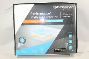 BedGear Dri-Tec Cool Touch Mattress Protector Moisture Wicking Twin XL