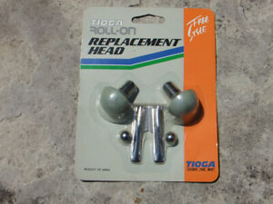 Old School Roll-On Tioga BMX Freestyle Bicycle Pegs Replacement Heads