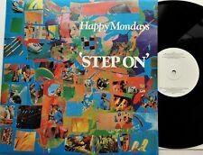 "Happy Mondays - Step On 12"" Single 1990 1st UK Press Factory FAC 272 EX+/EX"