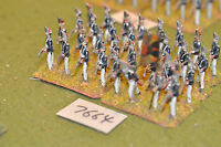 25mm napoleonic / russian - grenadiers 32 figs metal painted - inf (7664)