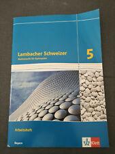 Lambacher Schweizer 5 Mathematik Gymnasium Arbeitsheft Klett Verlag