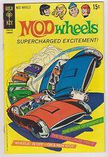 Mod Wheels #1, Very Fine - Near Mint Condition!