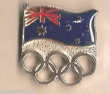 #P134.   AUSTRALIAN FLAG   SYDNEY 2000 OLYMPIC PIN