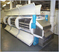 "IQF Cryogenic Ultrafreeze Tunnel Freezer, 3 Module 3 Tier, 30"" Conveyer Belt"