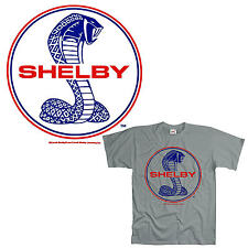 * Licensed Ford Shelby Mustang Cobra Auto MuscleCar T-Shirt *0194 *gr