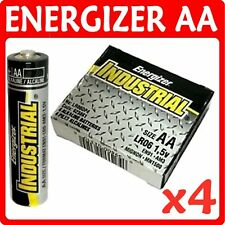 4 x AA ENERGIZER INDUSTRIAL Alkaline Batteries AM3 LR06
