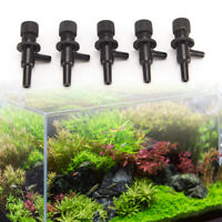 5pcs aquarium fish tank air line flow control tubing aquarium air pump valveNJ