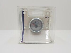 NEU VDO ViewLine Öldruckanzeiger 12/24V 5bar weiß Ø52mm 2 1/16inch Analog