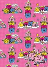 Little Miss wrapping paper - Gift Wrap 2 sheets 49cm x 70cm Mr Men