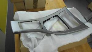 BMW 3 SERIES E92 & E93 DASH CONSOLE TRIM GLACIER SILVER NEW GENUINE 51168049057
