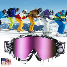 Snow Glasses Ski Goggles Anti Uv Dustproof Uv Protection Snowboard Snowmobile Us
