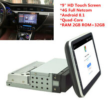 """1DIN 9"""" Android 8.1 HD Quad-Core 2+32G Car Stereo Radio WiFi 4G GPS Navigation"""