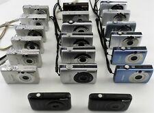 Mixed Lot of 20 Canon Powershot SD Series Digital Cameras for Parts or Repair