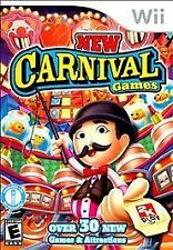 NEW CARNIVAL GAMES Nintendo Wii Game