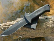 Gerber Prodigy 420HC Black Oxide Coating Black Rubber Handle Black Nylon Sheath