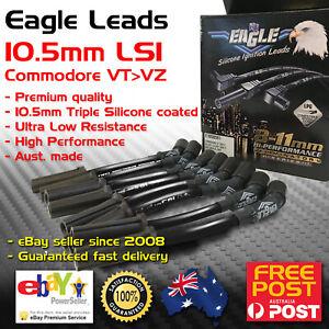 Eagle BLACK 10.5mm Ignition Leads Fits Chev Holden 5.7L Gen3 LS1 V8 VT-VZ