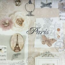Felicity Shabby Chic Wallpaper by Arthouse - Natural 665400