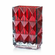 Baccarat Louxor Crystal Vase - Rouge - New in Box