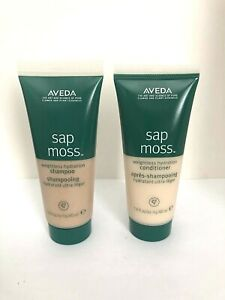 AVEDA Sap Moss Weightless Hydration Shampoo & Conditioner Duo 1.4oz / 40ml each