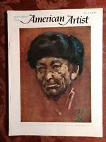 AMERICAN ARTIST September 1964 Norman Rockwell Maurice Sendak Albert Bierstadt