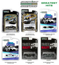 HOLLYWOOD SERIES GREATEST HITS, SET OF 6 CARS 1/64 DIECAST BY GREENLIGHT 44711
