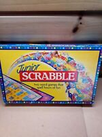 Vintage Junior SCRABBLE Word Board Game 1995 Spears Games Complete 2-4 Players