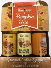 Jordan's Skinny Syrup Pumpkin trio