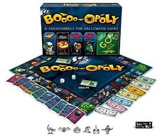 SCARY MONOPOLY BOARD GAME AGE 8 UP KIDS ADULT PARTY TOY GROUP HAUNTED ZOMBIES