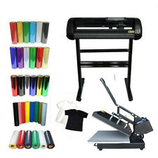 Heat press, Vinyl Cutter  ,Vinyl DIY T-shirt by Vinyl Start-up Kit