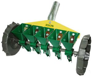 Rosta Hand Precision Adjustable Manual Garden Vegetable Grass Seeder 1-5 Rows