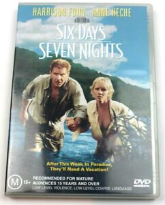 SIX DAYS SEVEN NIGHTS – DVD - REGION-4 - USED MOVIE