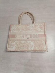 DIOR Tote Book Bag Pink Small Format