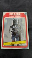 1980 Star Wars Topps Empire Strikes Back ESB #11 Boba Fett ~ Rookie