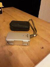 Minolta 16 miniture camera in zippered case
