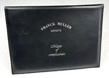 FRANCK MULLER Master of Complications Leather CERTIFICATE Wallet CONQUISTADOR