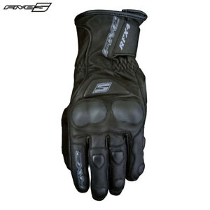 Five Rfx 4 St Schwarz Ziegenleder Leder Road / City / Urban / SPORTS Handschuhe