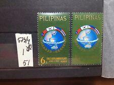 SELLOS DE FILIPINAS. NUEVOS CON FIJASELLOS.  YVERT Nº 573/4