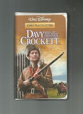 Davy Crockett - King of the Wild Frontier, Fess Parker, Buddy Ebsen, VHS